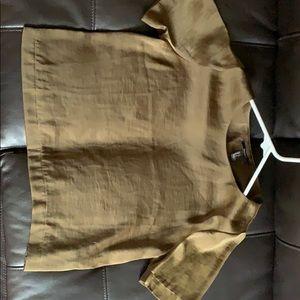 F21 Silk blouse